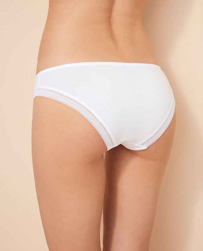 Hipster briefs Blanc Coton