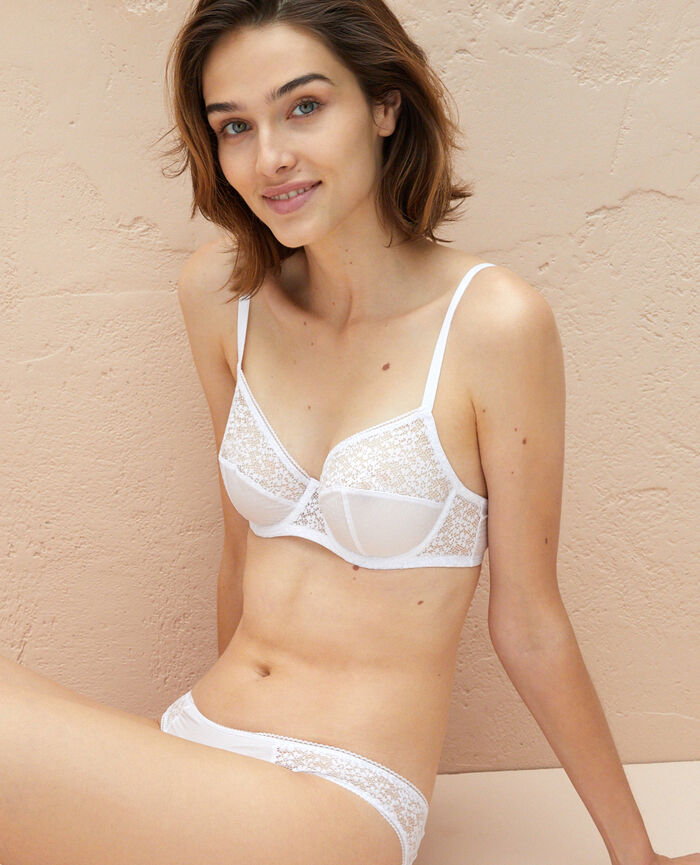 Underwired bra White Eldorado