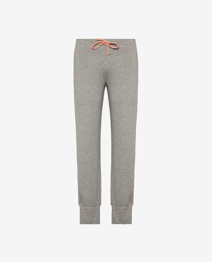 Sport trousers Flecked grey Yoga