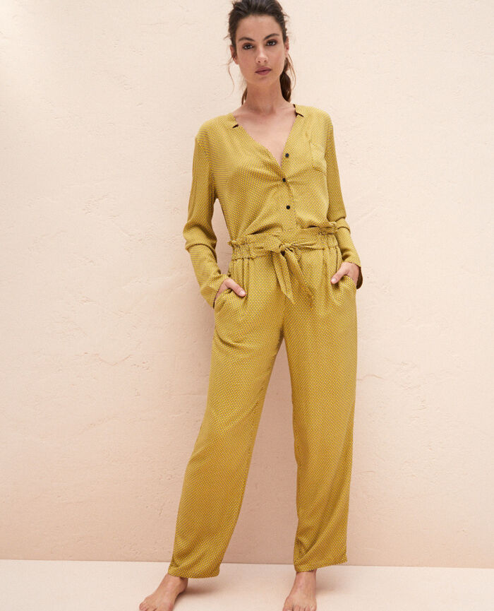 Trousers Yellow tie Pictural