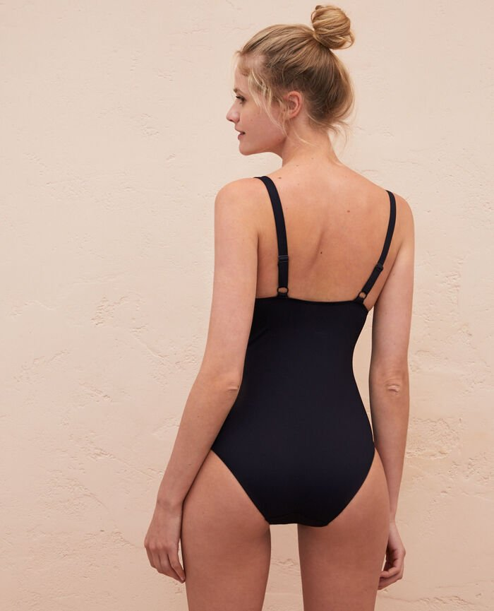 Concealed underwired swimsuit Noir Impala