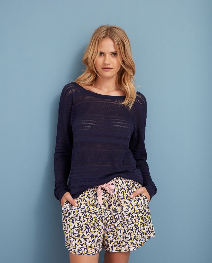 Jumper Manhattan blue Poeme