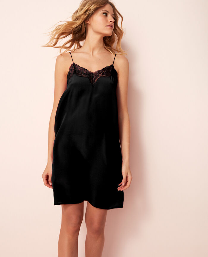 Short nightie Noir Divine
