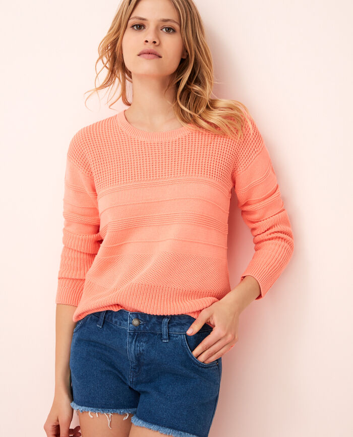 Jumper Grapefruit pink Cachou