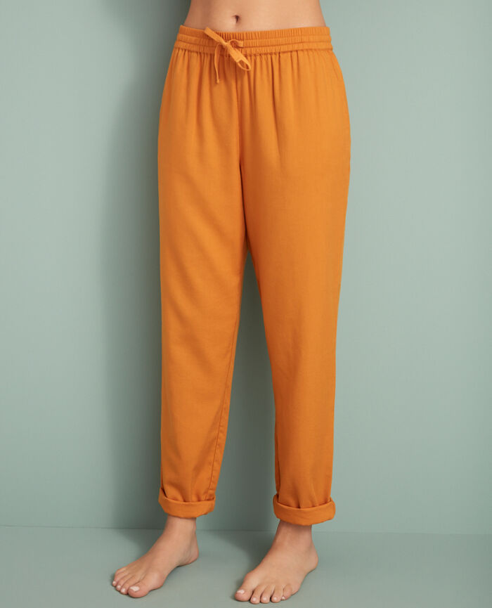 Carrot pants Taxi yellow Abysse