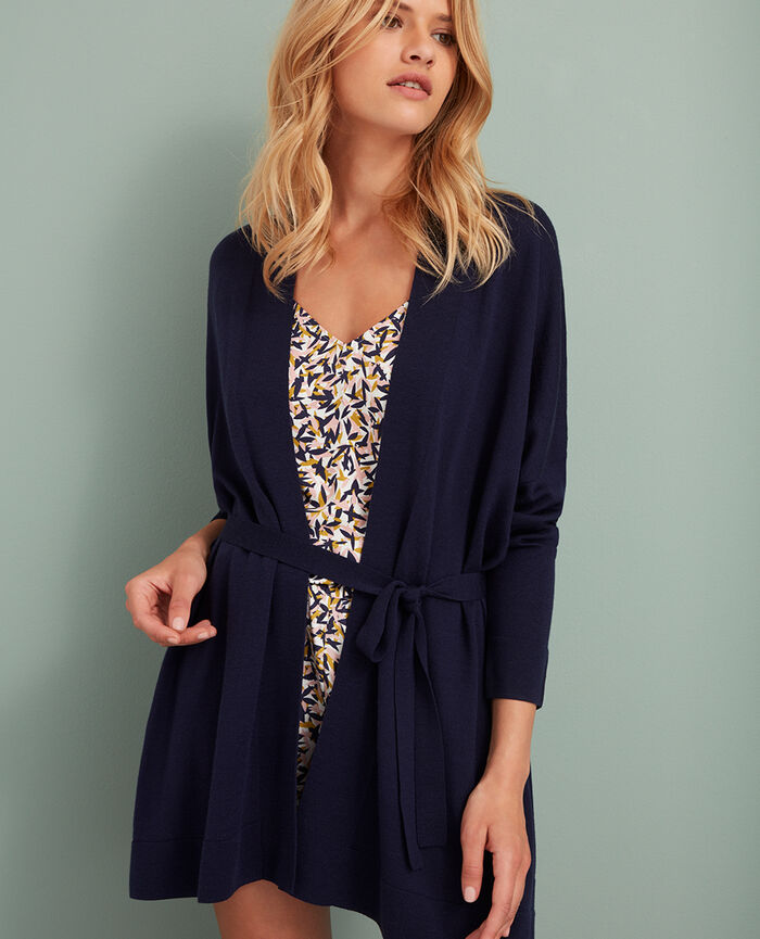 Cardigan Manhattan blue Extra