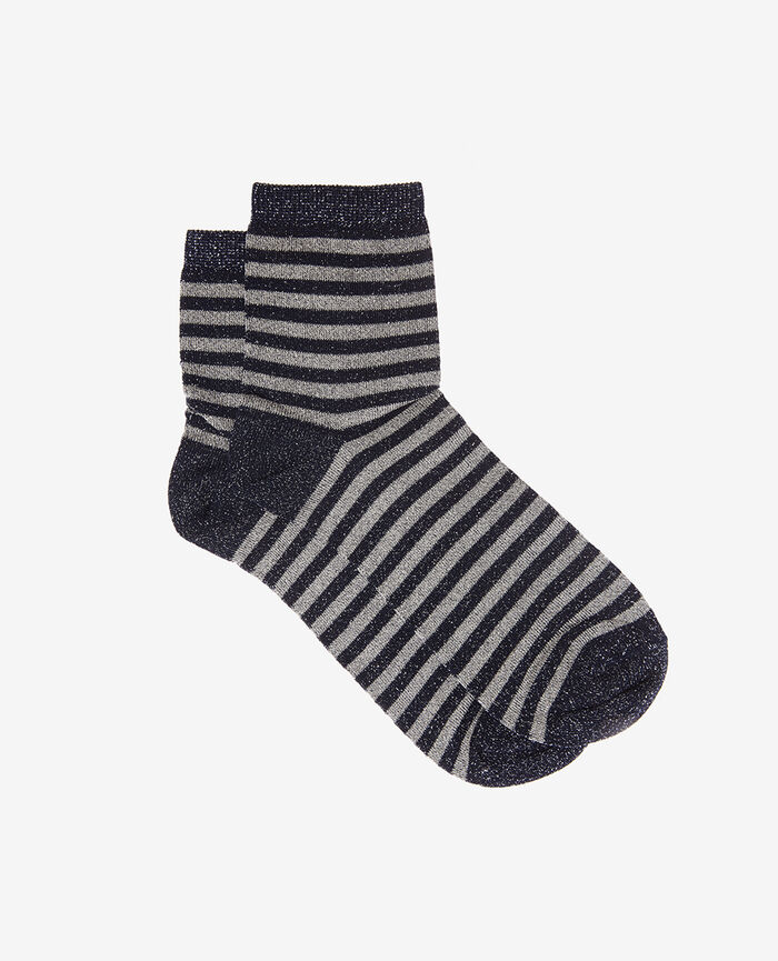 Socks Blue stripes Diamond
