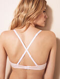 Half-cup bra Feather pink Air lingerie