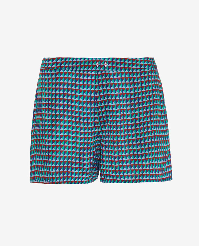 Shorts Geometric blue Bella vita