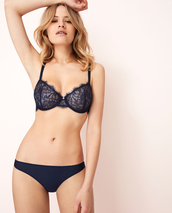 Hipster briefs Navy Taylor