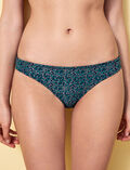 High-cut bikini briefs Pigment green Stellar
