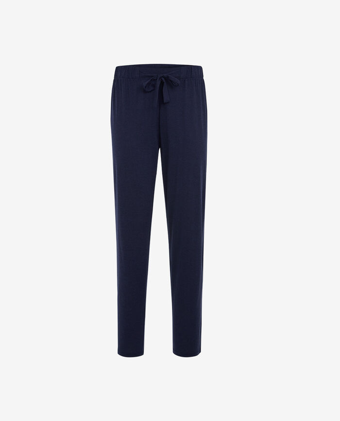 Trousers Navy Latte