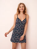 Slip dress Flowers blue Take away