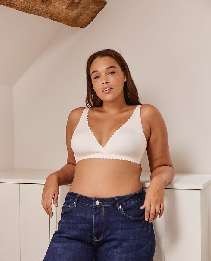 Soft cup bra Rose white Secret
