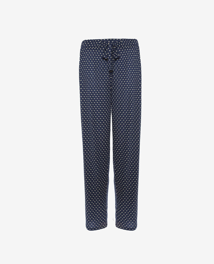 Trousers Blue piaf Latte