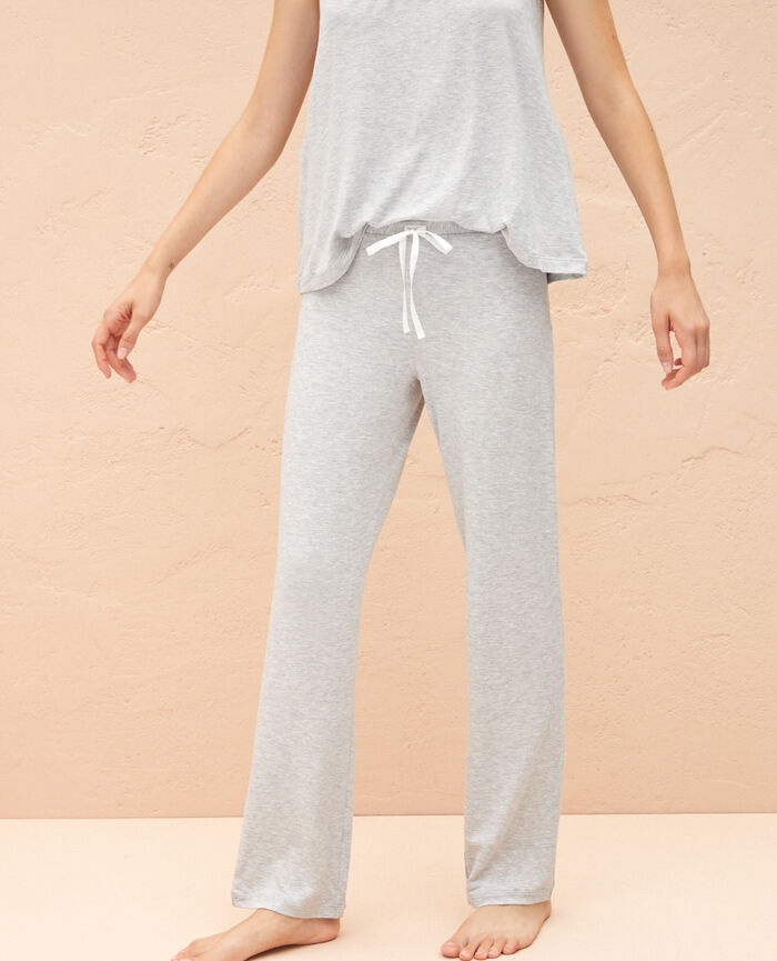 Trousers Flecked grey Douceur