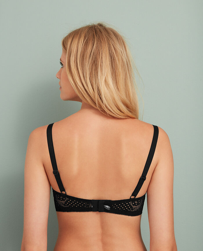 Underwired bra Black Metropolitan
