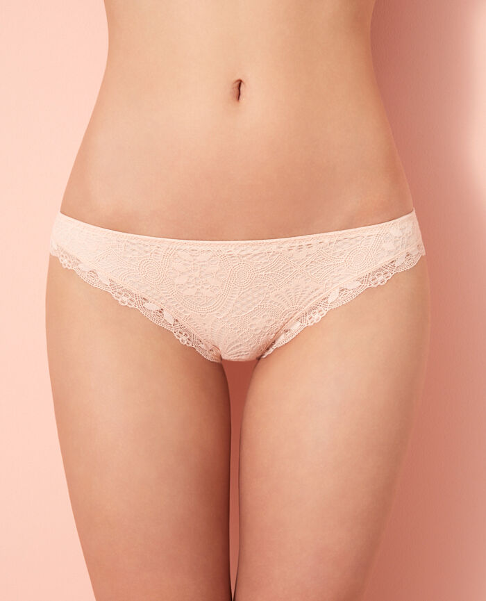 Hipster briefs Rose gold Love