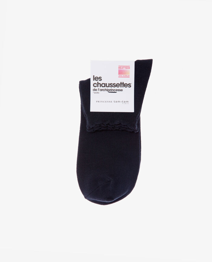 Socks Navy Feminine