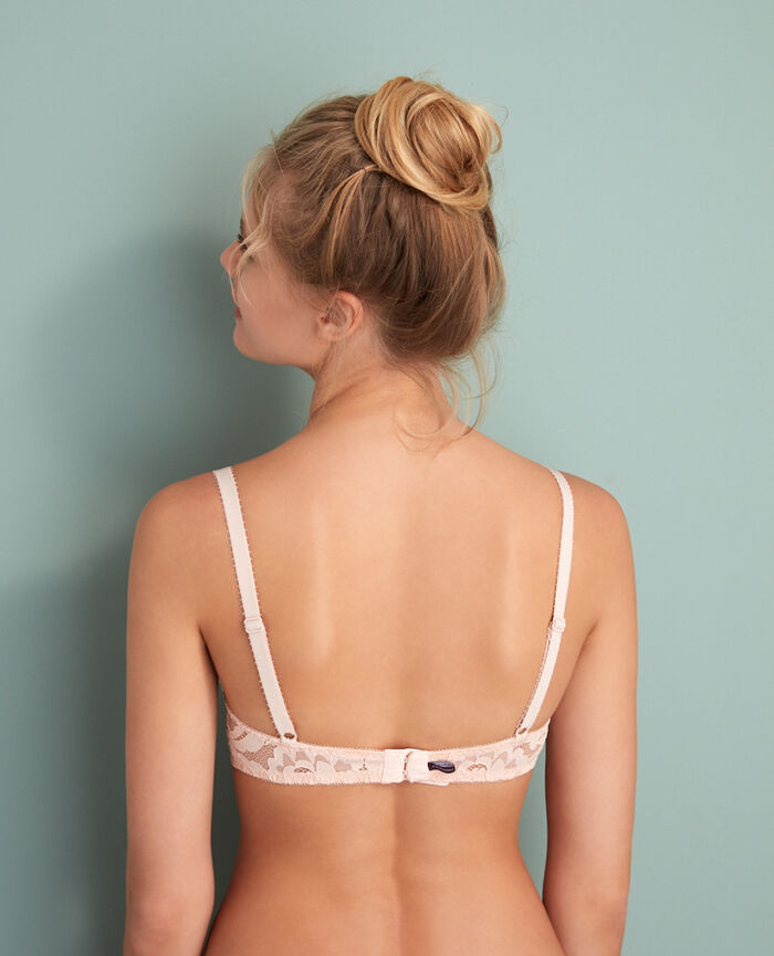 Half-cup bra Glace rose Angelina