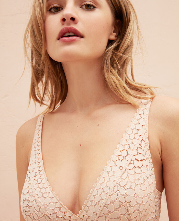 Underwired triangle bra Powder Monica