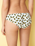 Printed briefs Avocado ivoiry Take away