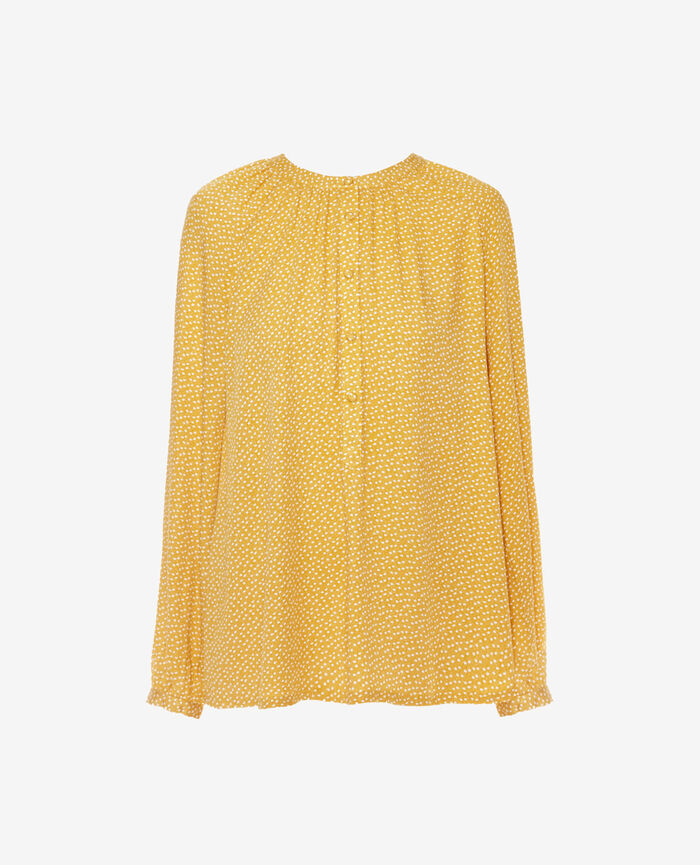 Long-sleeved shirt Yellow dandelion Amplitude