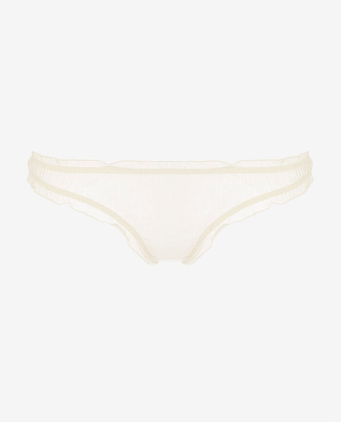 Printed briefs Ivoire Froufrou