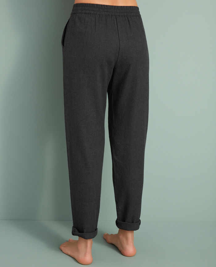 Carrot pants Anthracite grey Abysse