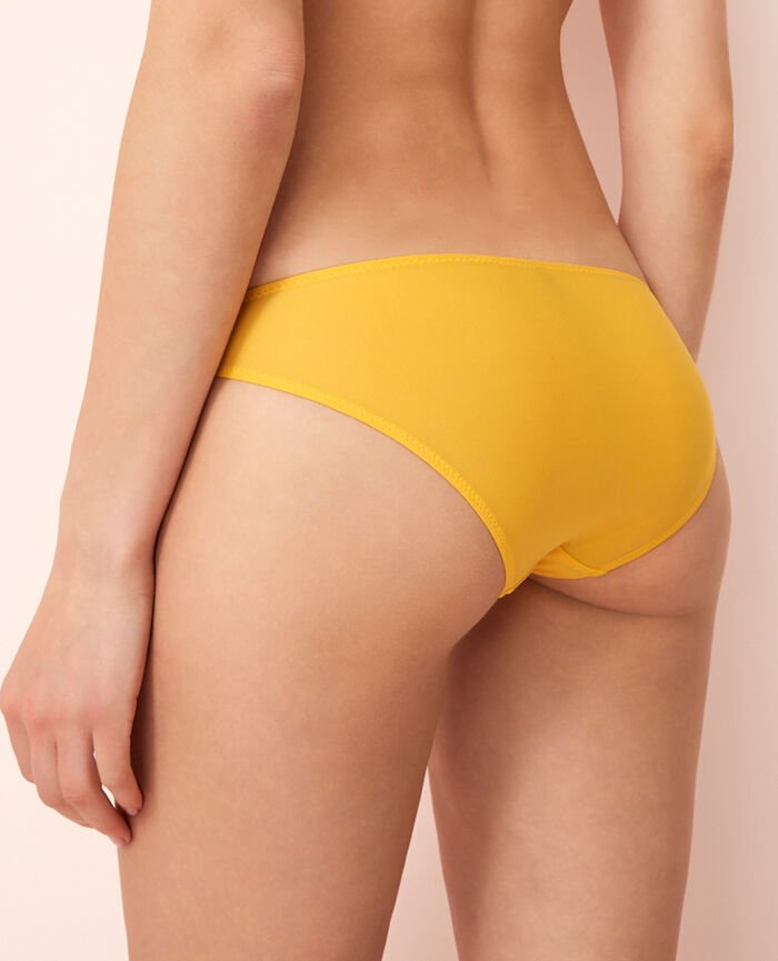 Hipster briefs Palm tree yellow Monica