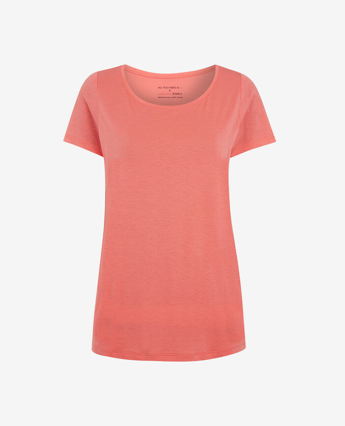 Short-sleeved t-shirt Funky pink Latte