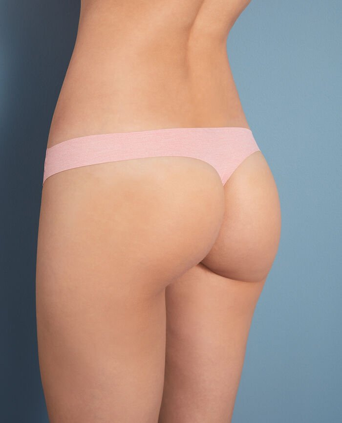 Thong Pink chiné Fantomette