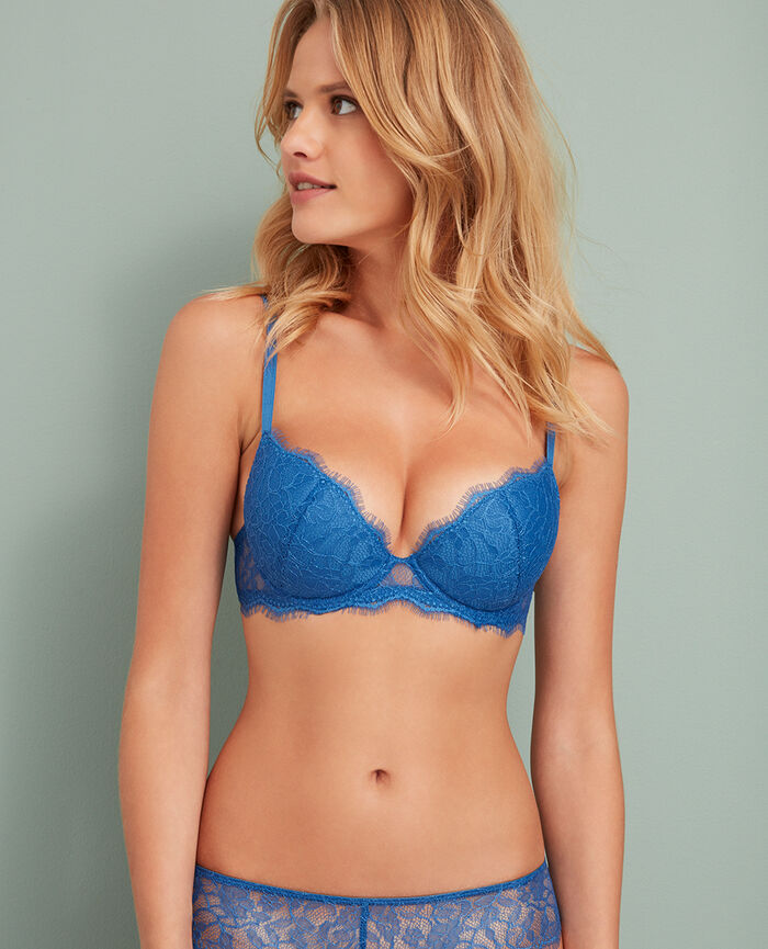 Padded push-up bra River blue Taylor