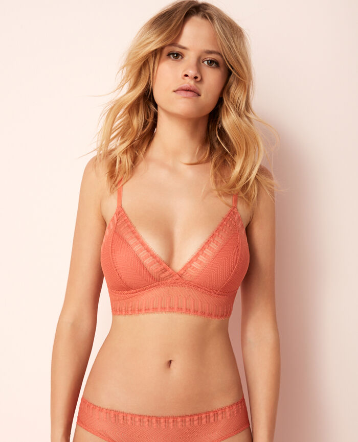 Soft cup bra Terracota Serenade