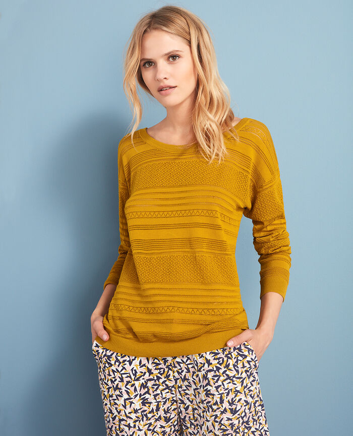 Jumper Pickles yellow Poeme