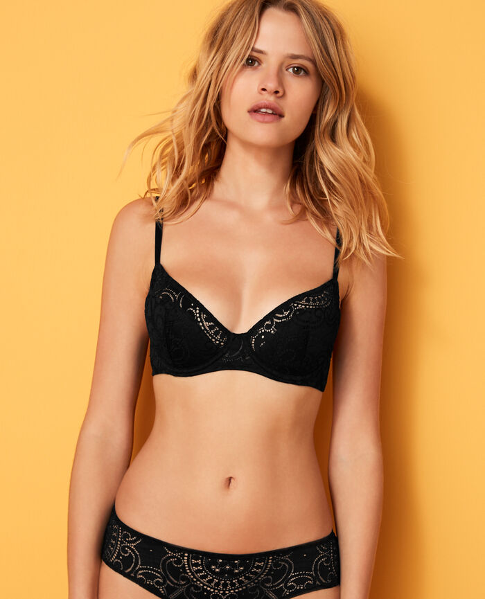 Demi push-up bra Black Evasion