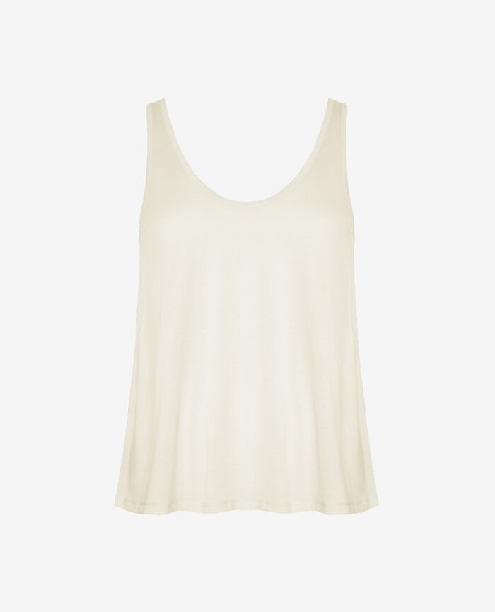 Vest top Ivoiry Latte