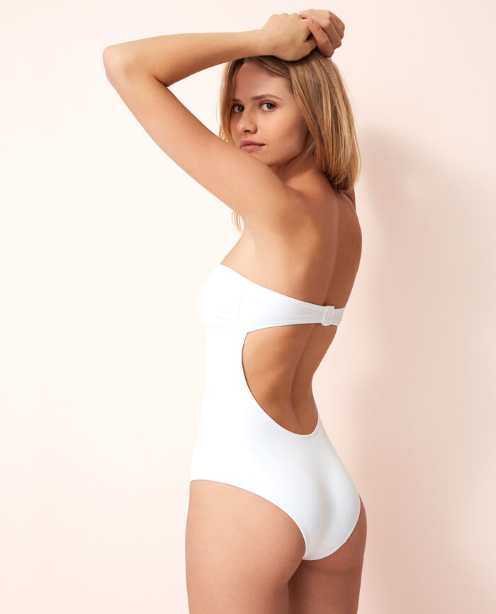 Bustier swimsuit White Soko