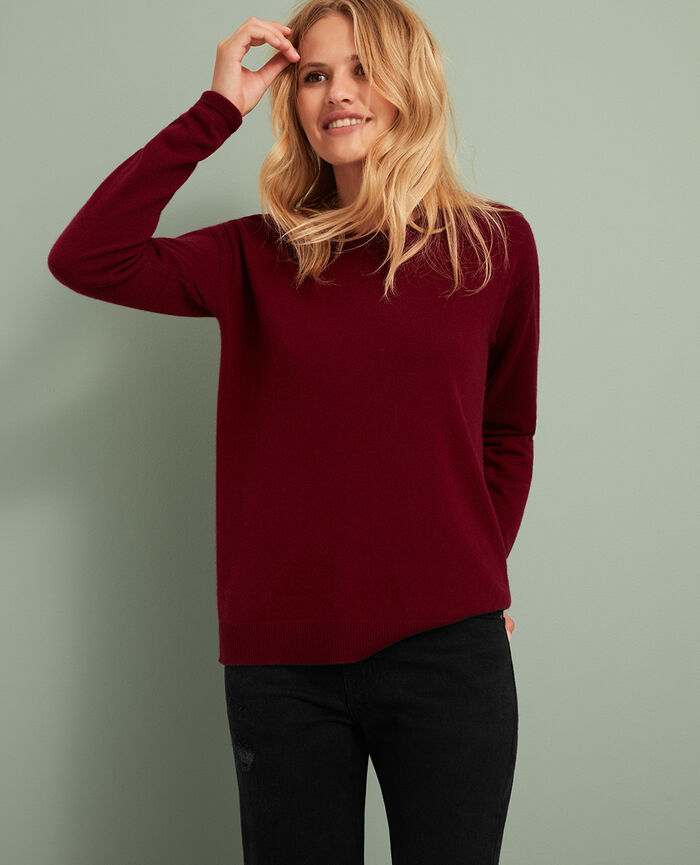 Jumper Leather red Cozy