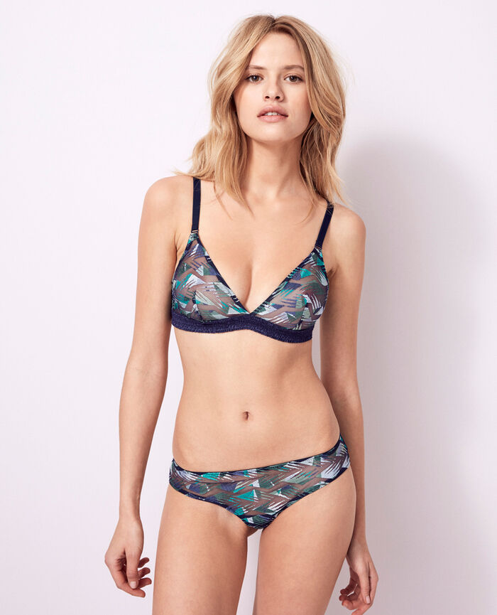 Soft cup bra Multicolour Artifice