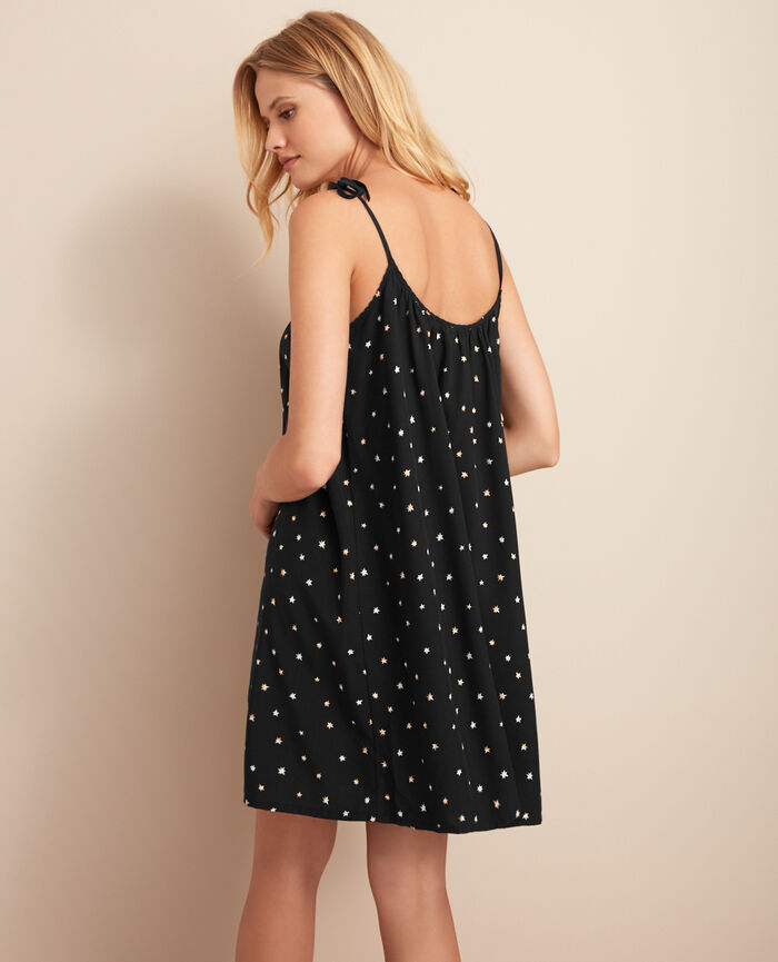 Short nightie Nova black Magic