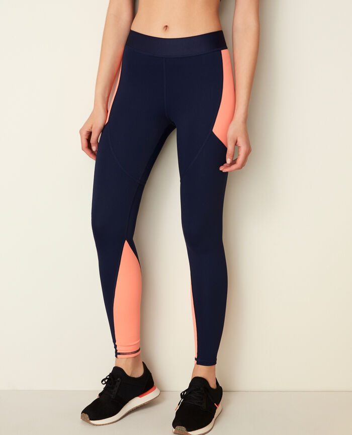 Sporty long running legging Navy Run