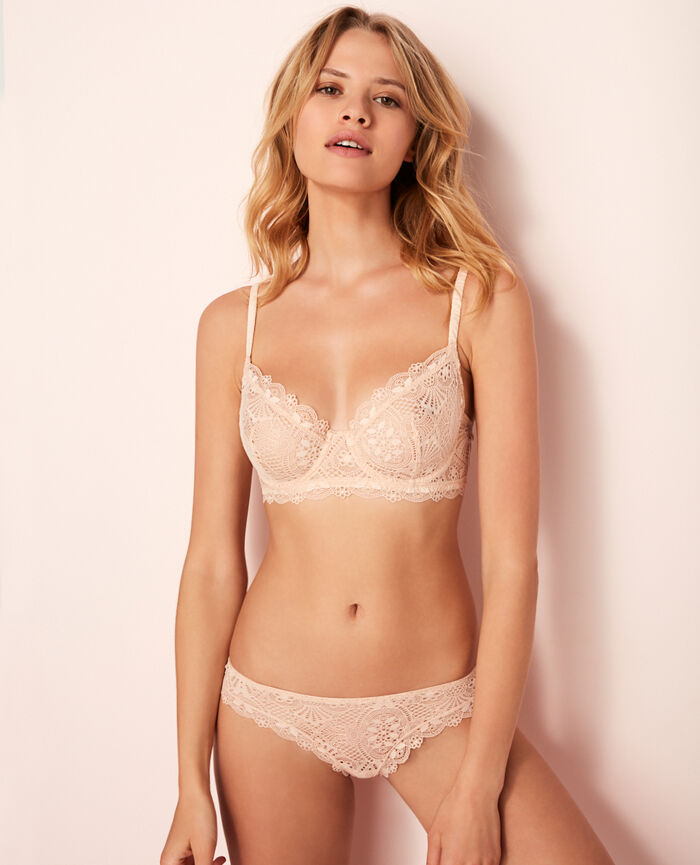 Bustier bra Rose gold Love