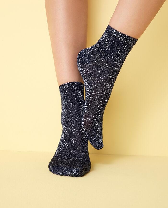 Socks Denim blue Diamond