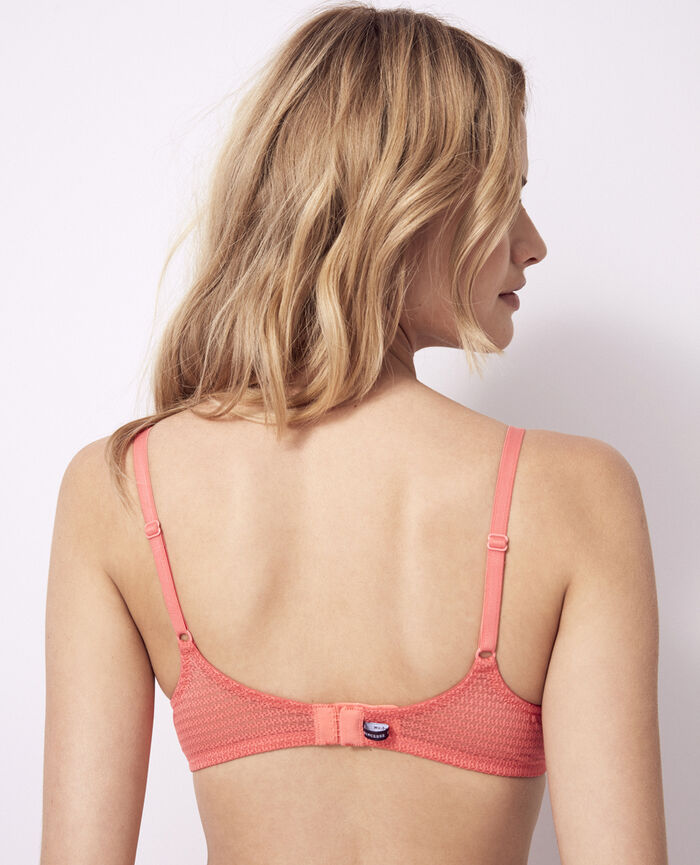 Padded push-up bra Funky pink Fetiche