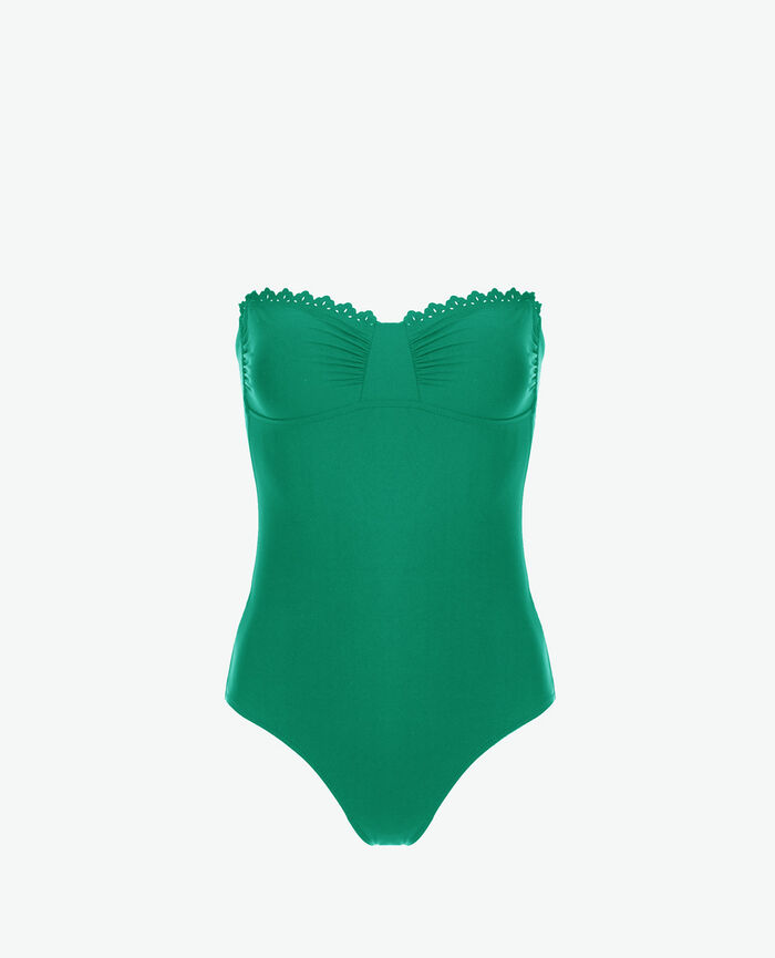 Bustier swimsuit Casa green Andrea