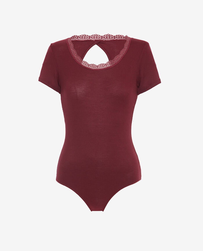 Backless body Cassis red Lovely