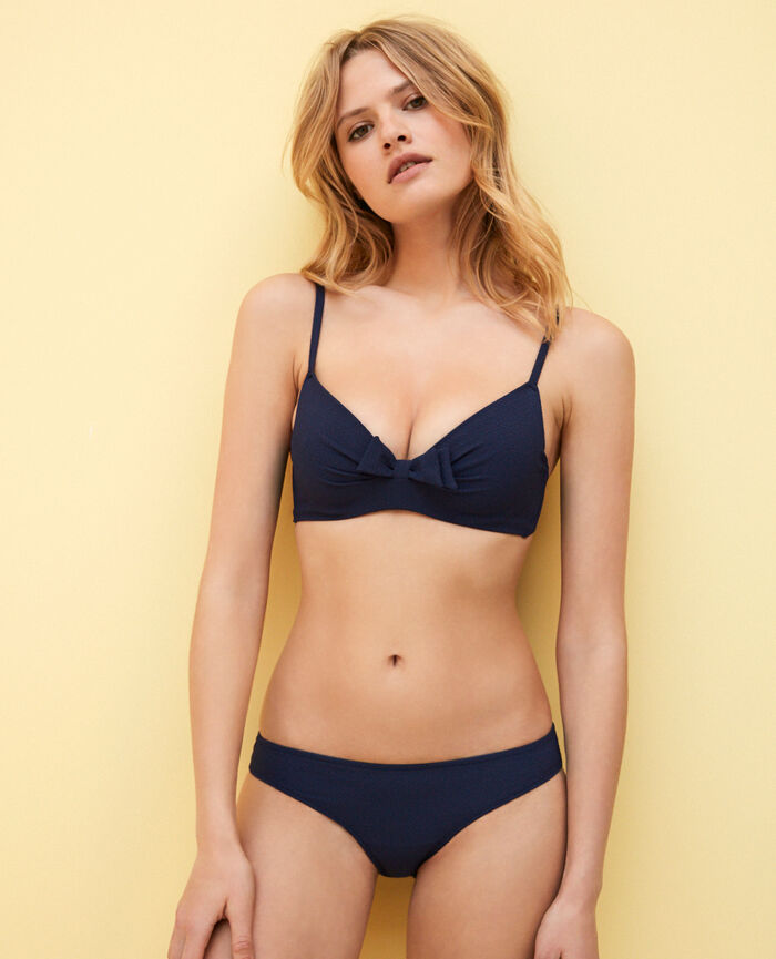 Hipster bikini briefs Bleu marine April