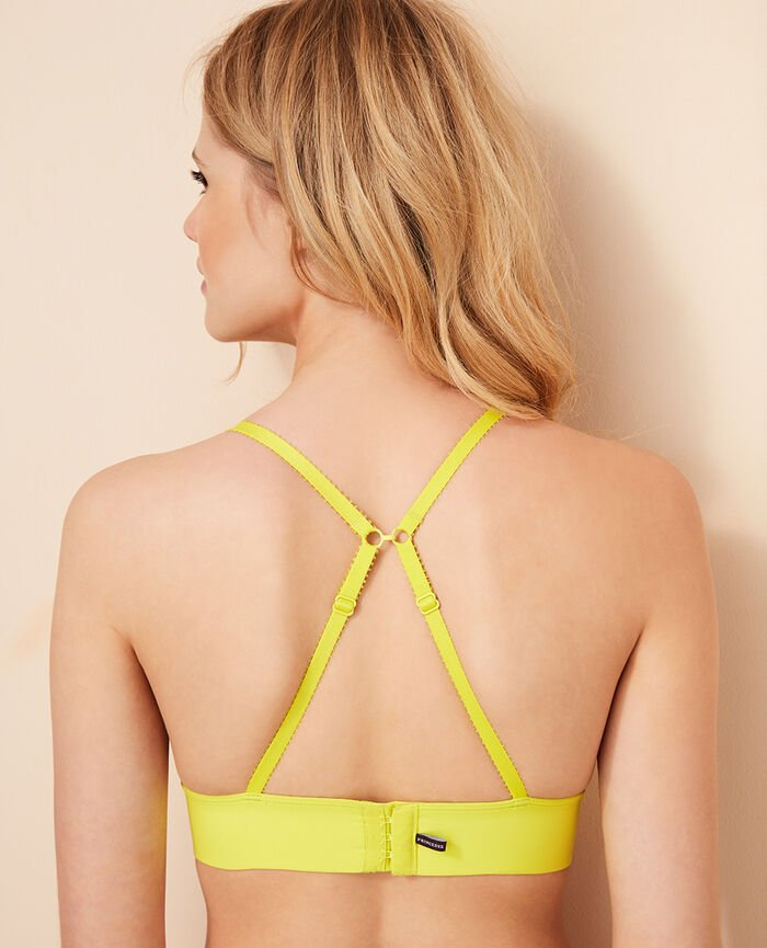 Soft cup bra Sunset yellow Voodoo