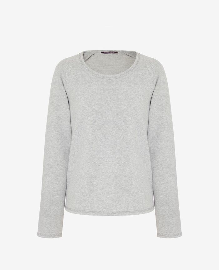 Sporty sweater Light grey Moove